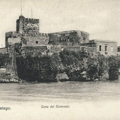 Fortaleza Ozama view from Rio Ozama in 1910