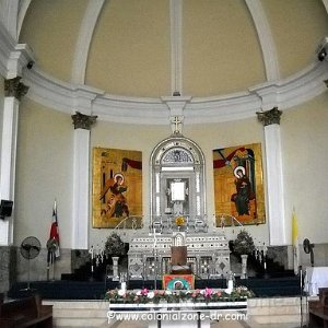 Church Nuestra Señora de la Altagracia and the Ruins San Nicolás de Bari