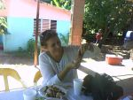 barahona jan eating fish