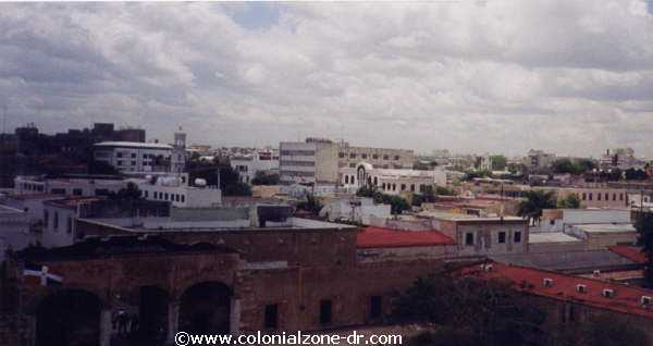 atop fortaleza ozama looking over colonial zone