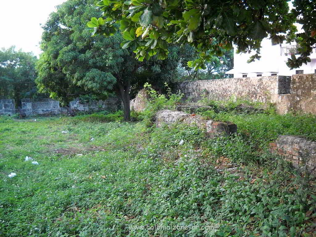 The remains of the old barracks - Fortaleza Ozama