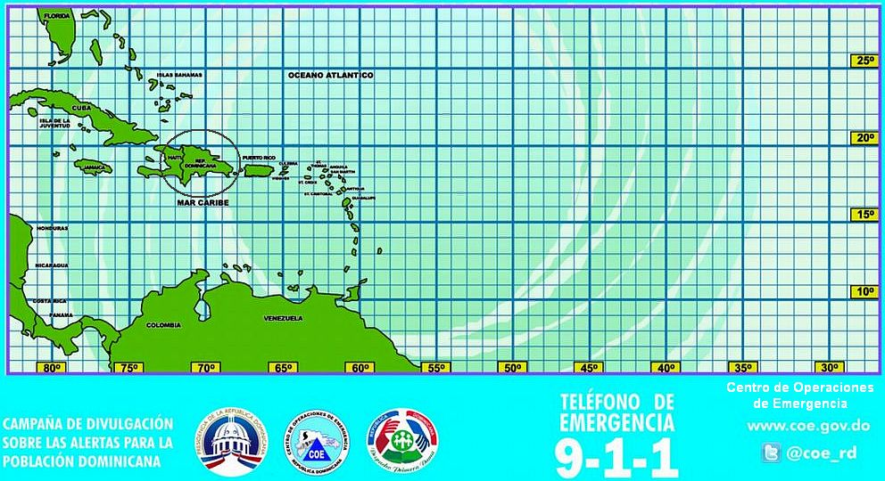 Latitude Longitude Dominican Republic and Caribbean