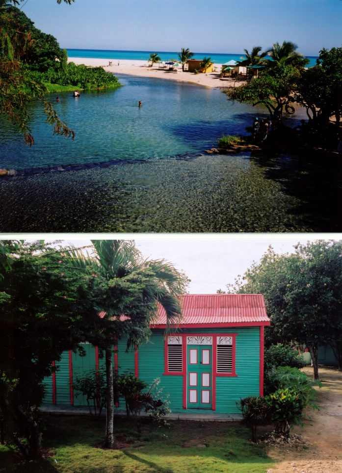 picture/image Los Patos pool barahona