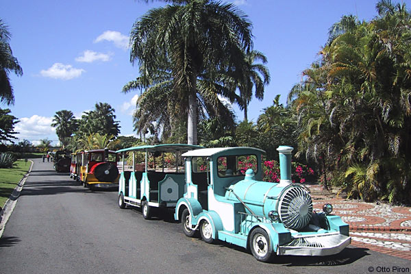 national botanical garden dominican republic train