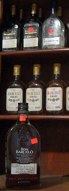 assortment of Barceló Ron hecho en Republica Dominicana