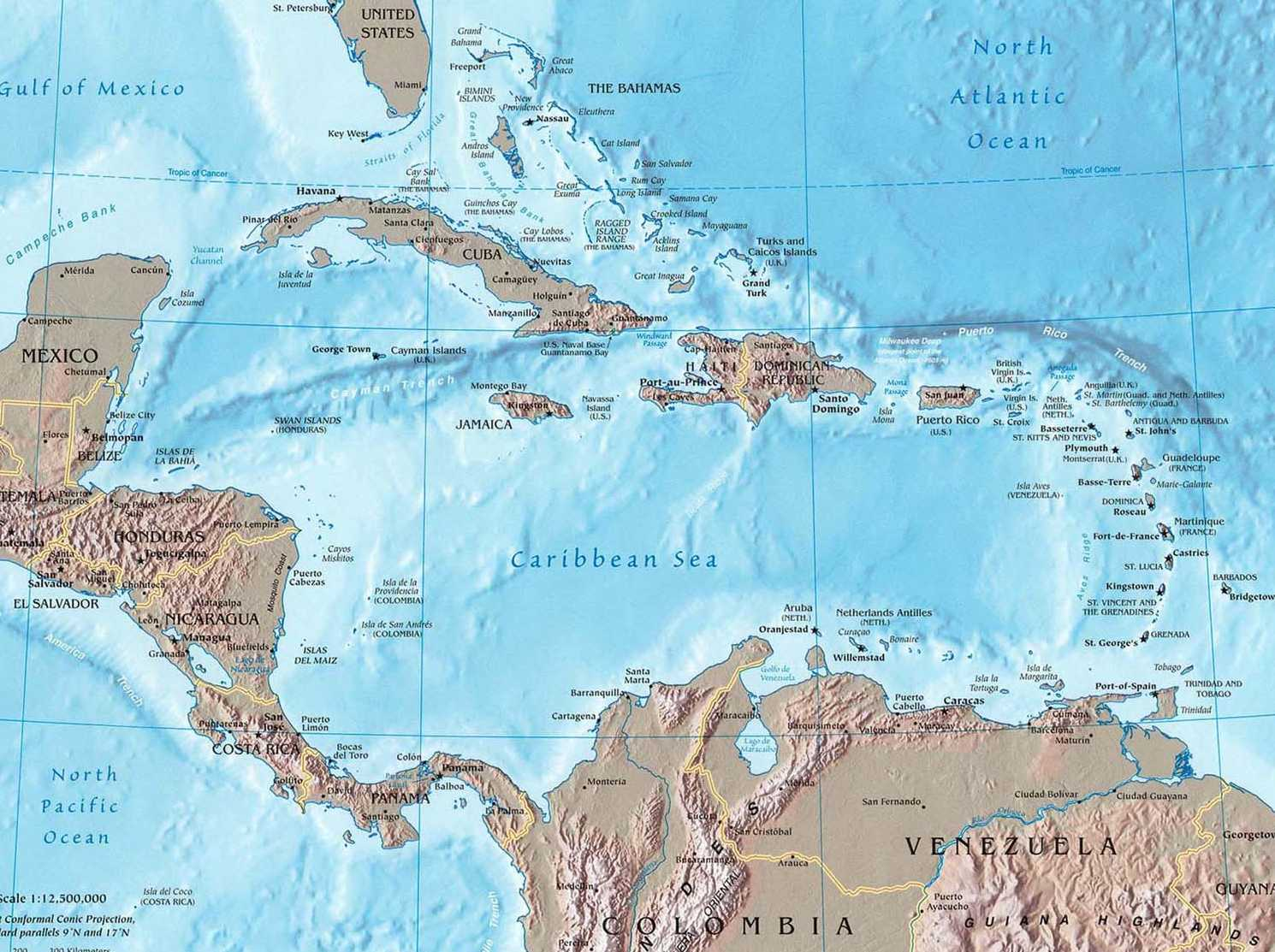 Dominican Republic Maps Directions