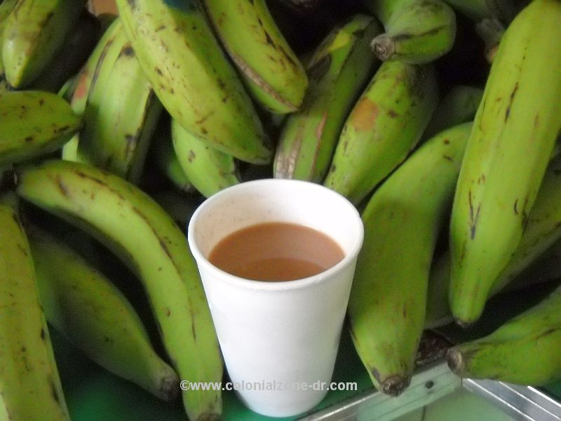 a cup full of habicuelas con dulce - sweet beans ready to eat
