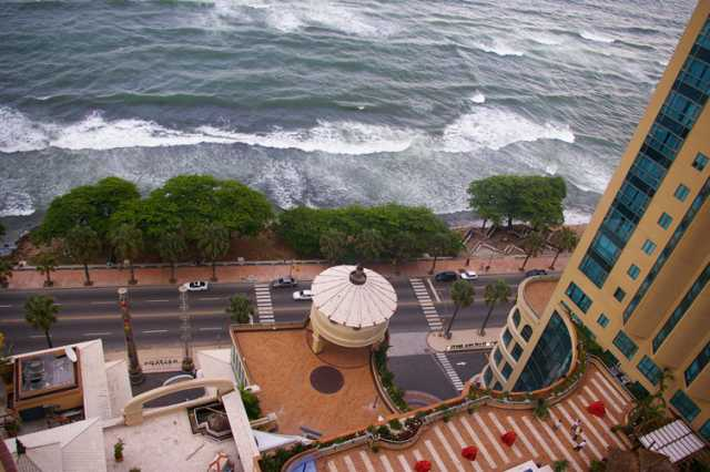 pcture/image Malecon center from above