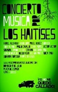 poster concert music for los haitises