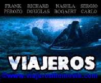 poster advertising Viajeros movie