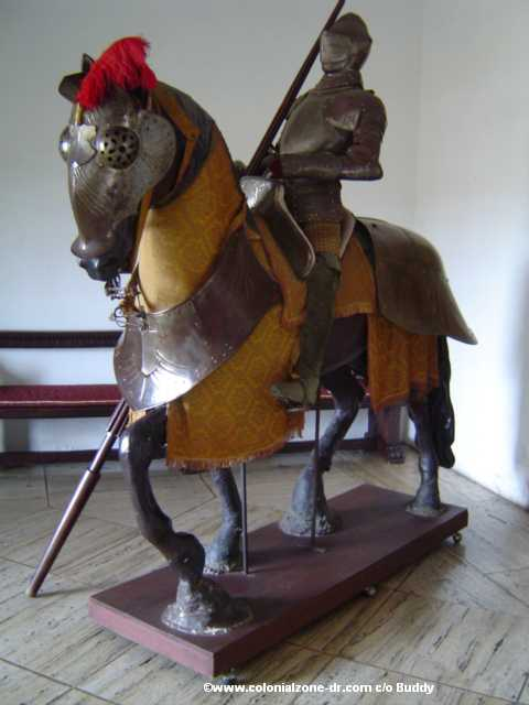 Suit of Armor in the museum Alcazar de Colón