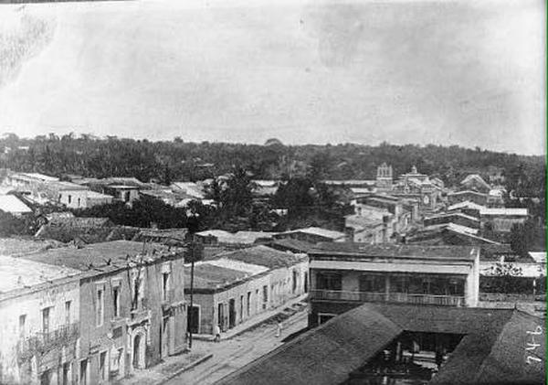 Calle Isabel la Catolica La Casa del Cordón 1911