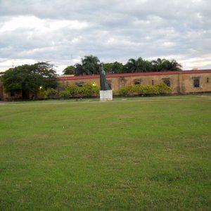 Casa de Bastidas as seen from inside the Fortaleza Ozama.