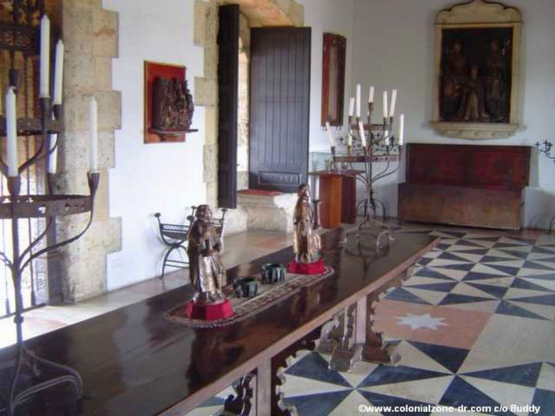Inside the Museum of Alcazar Colón