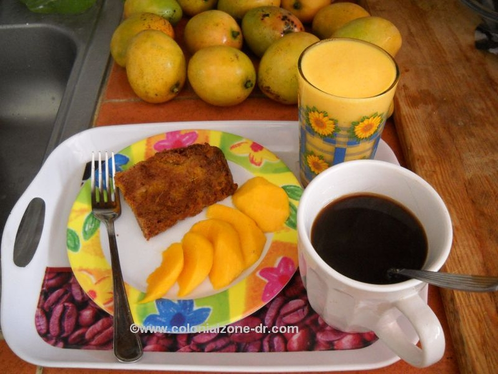 Mangos- Mango Bread - Mango milk blended juice