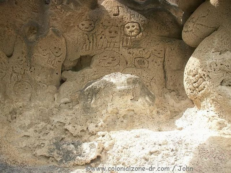 Taino cave drawings