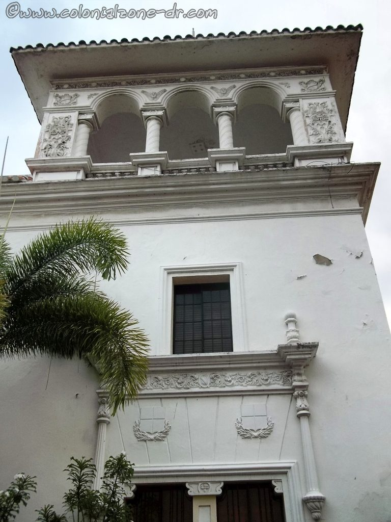 One of the look out towers of the Casa del Sacramento