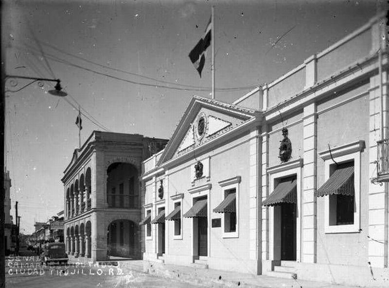Palacio de Borgella in the 1940s