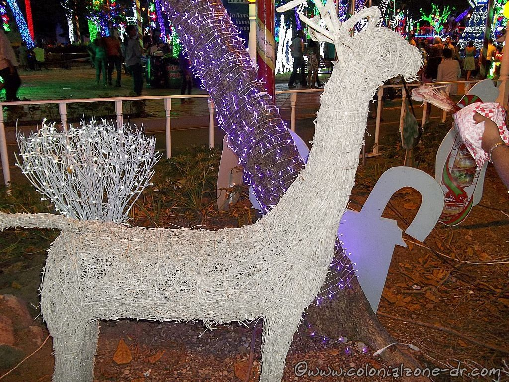 An animal shaped Charamico at Brilliante Navidad