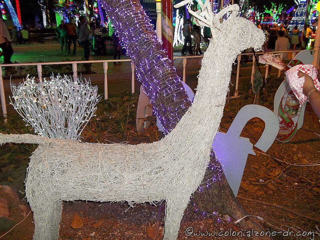 An animal shaped Charamico at Brilliante Navidad