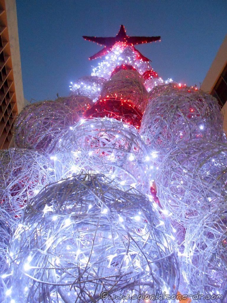 a christmas tree on calle el conde
