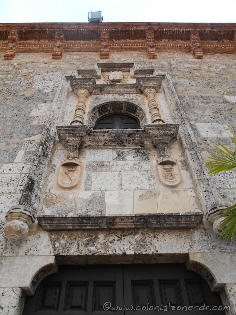 Casa Reales window above the front entrance