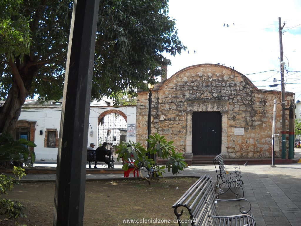 The front of the Iglesia San Miguel
