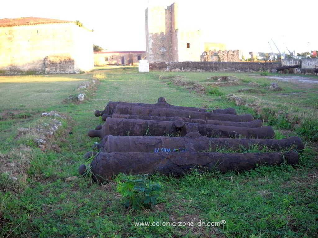 The remains of la Primera Obra/ The First Fort constructed inside Fortaleza Ozama.