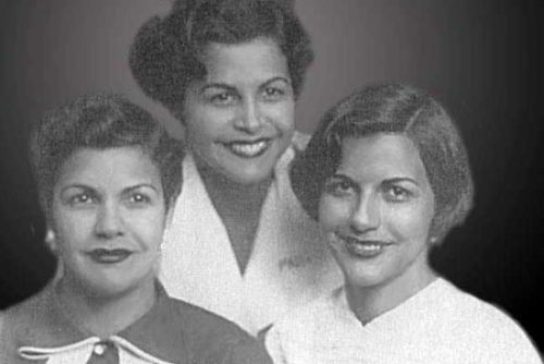 Patricia, Maria Teresa and Minerva Mirabal - Original Images Owned by the Mirabal Family