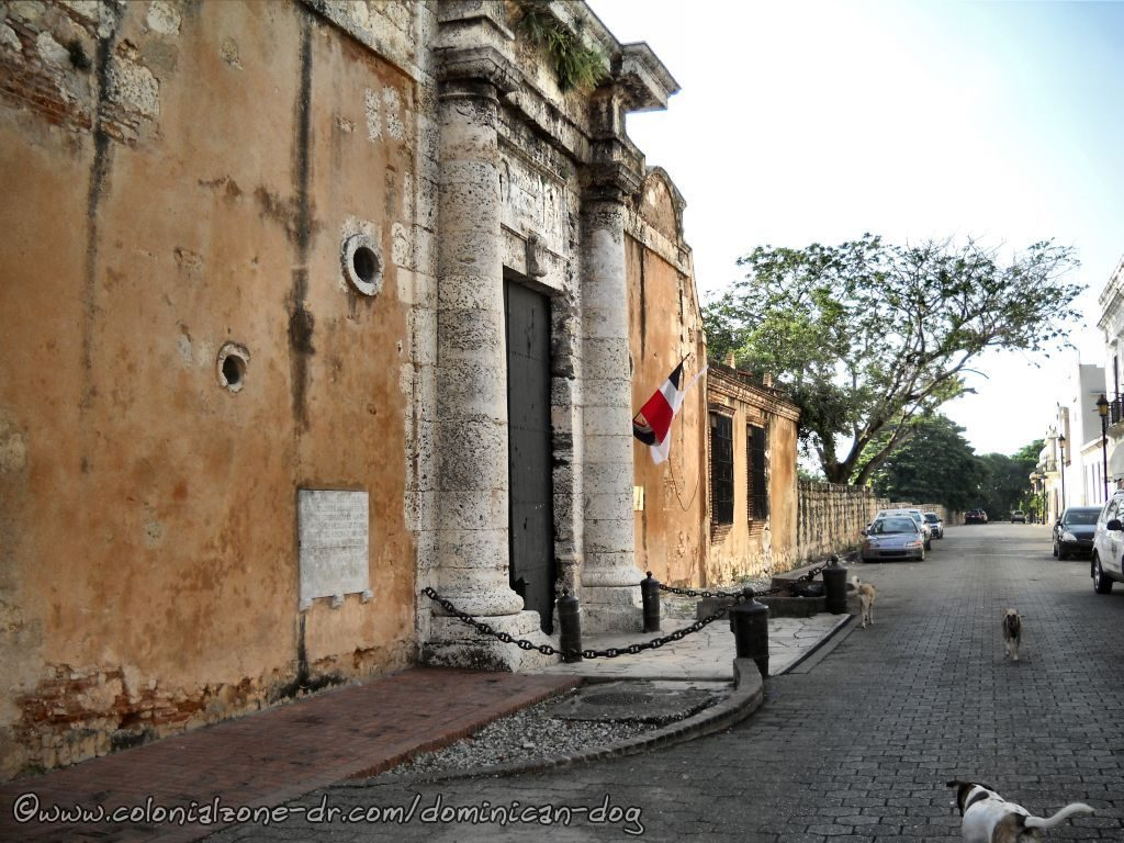 The Entrance To Fortaleza Ozama on Calle Las Damas