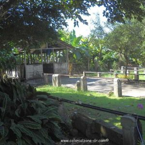The original home of the Hermanas Mirabal - area used for cleaning and processing the raw Cacao