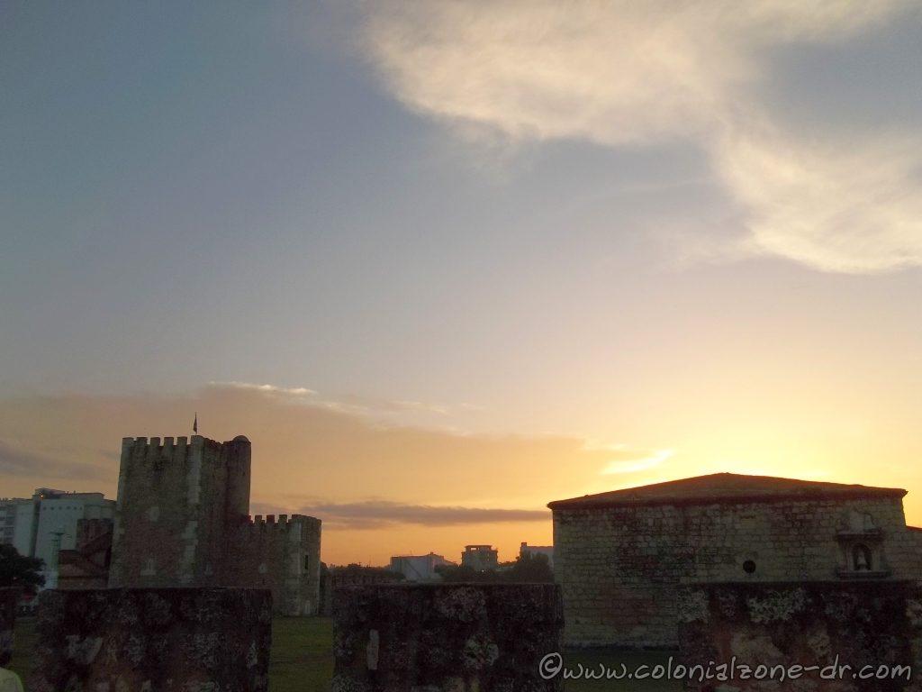 Sun Rise Over Fortaleza Ozama