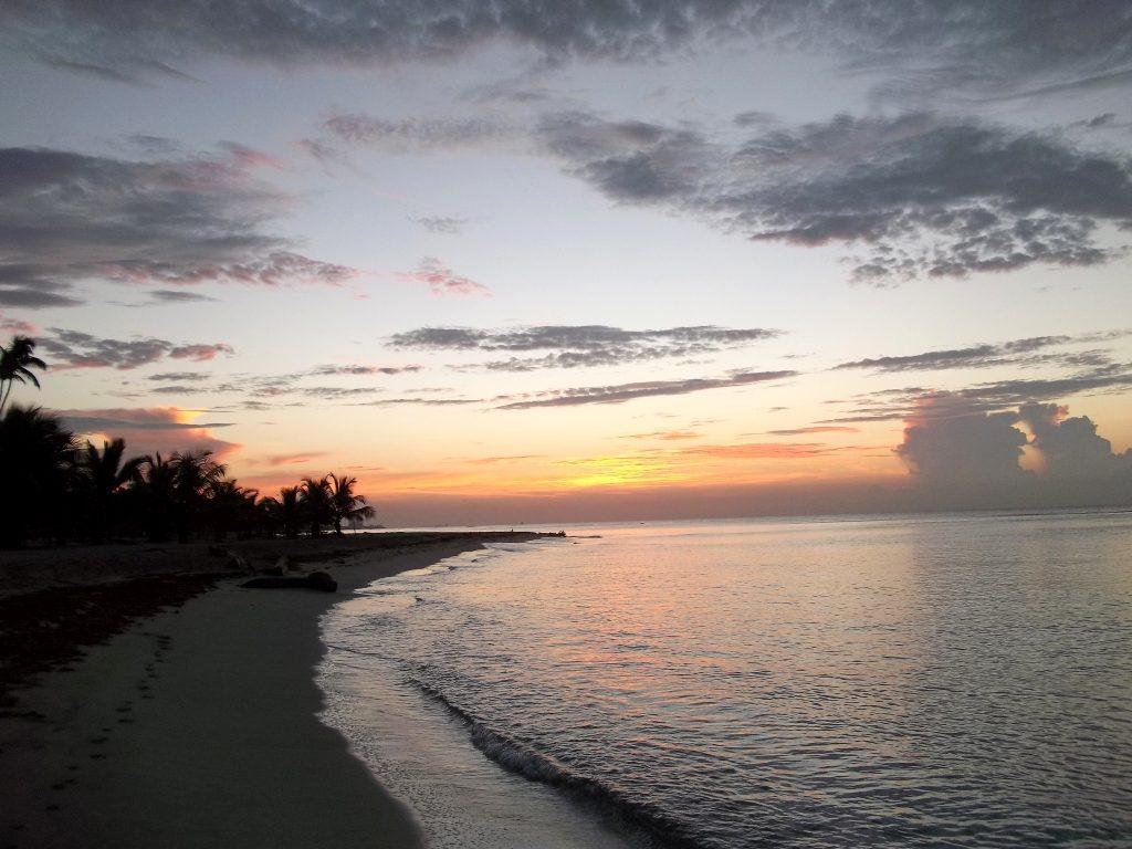 Playa Juan Dolio in the morning
