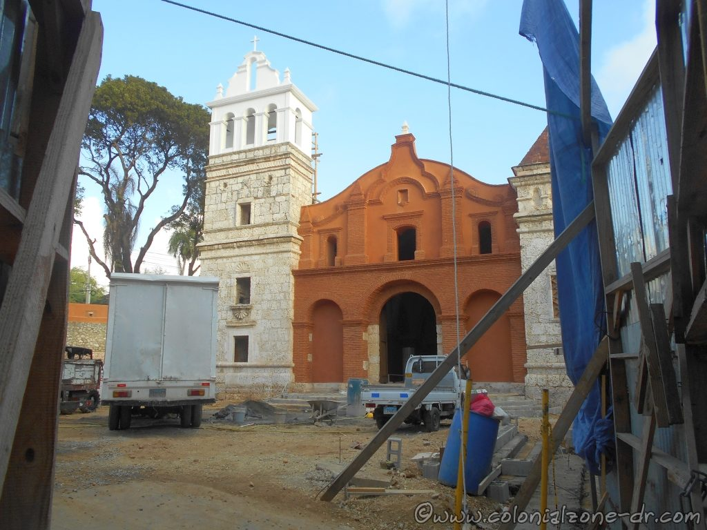 Remodeling the Iglesia and  Fuerte Santa Barbara is coming along.