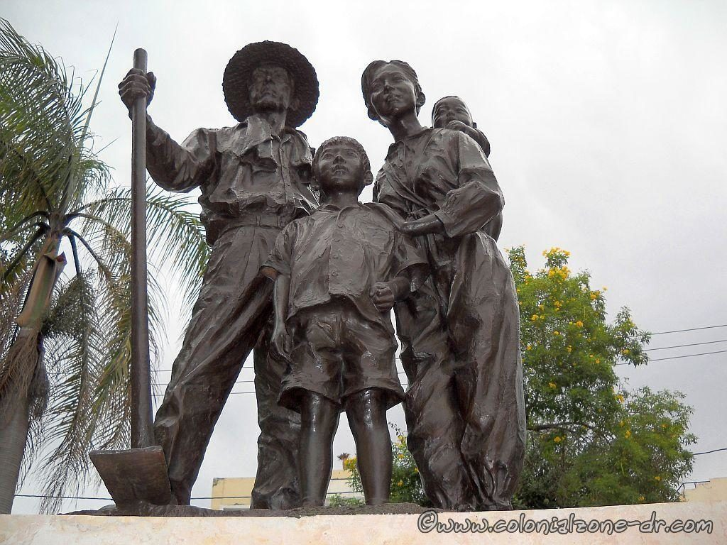 Japanese Agricultural Immigration Monument symbolizes the arrival of the first families that came to the Dominican Republic from Japan