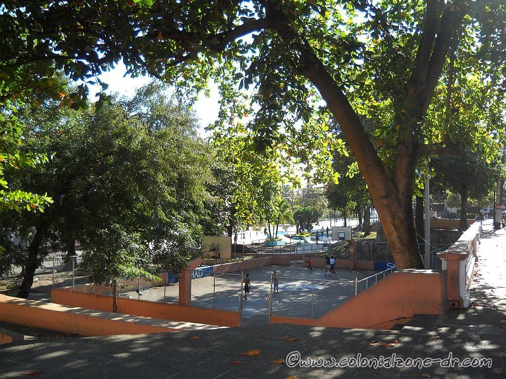 Fort San Jose Basketball court and Skateboard parks.