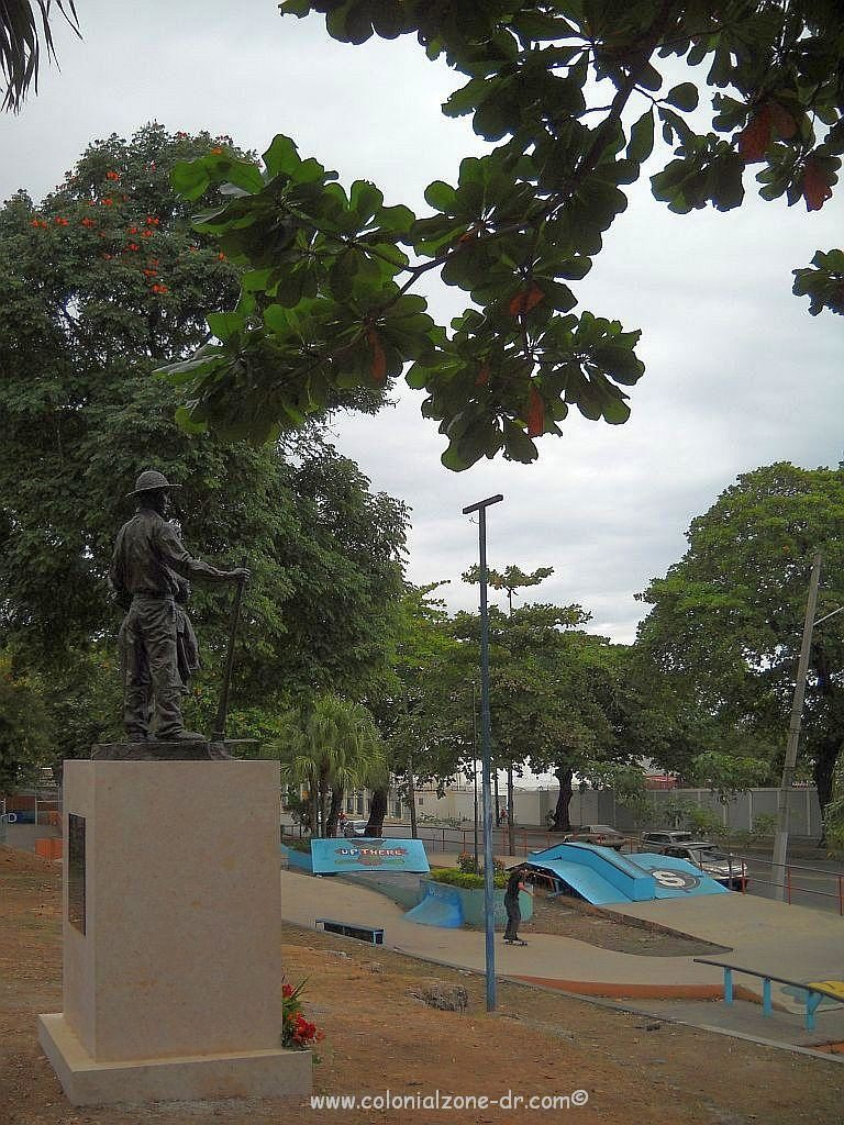 Fuerte San José and the Japanese Agricultural Immigration Monument and the Skateboard Park
