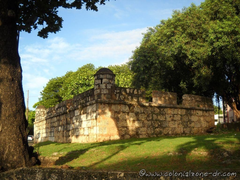 The rectangular shaped fort San José