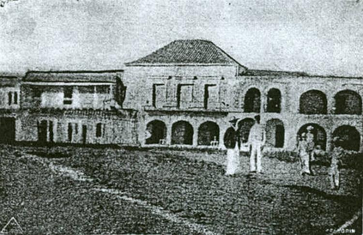 The original Palacio Consistorial