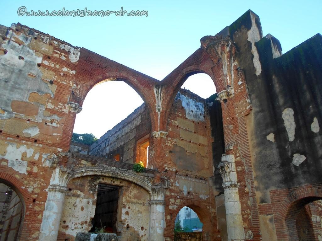All that remains of the Hospital San Nicolas De Bari.