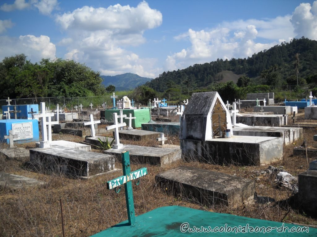 A cemetery in the town of Nizao