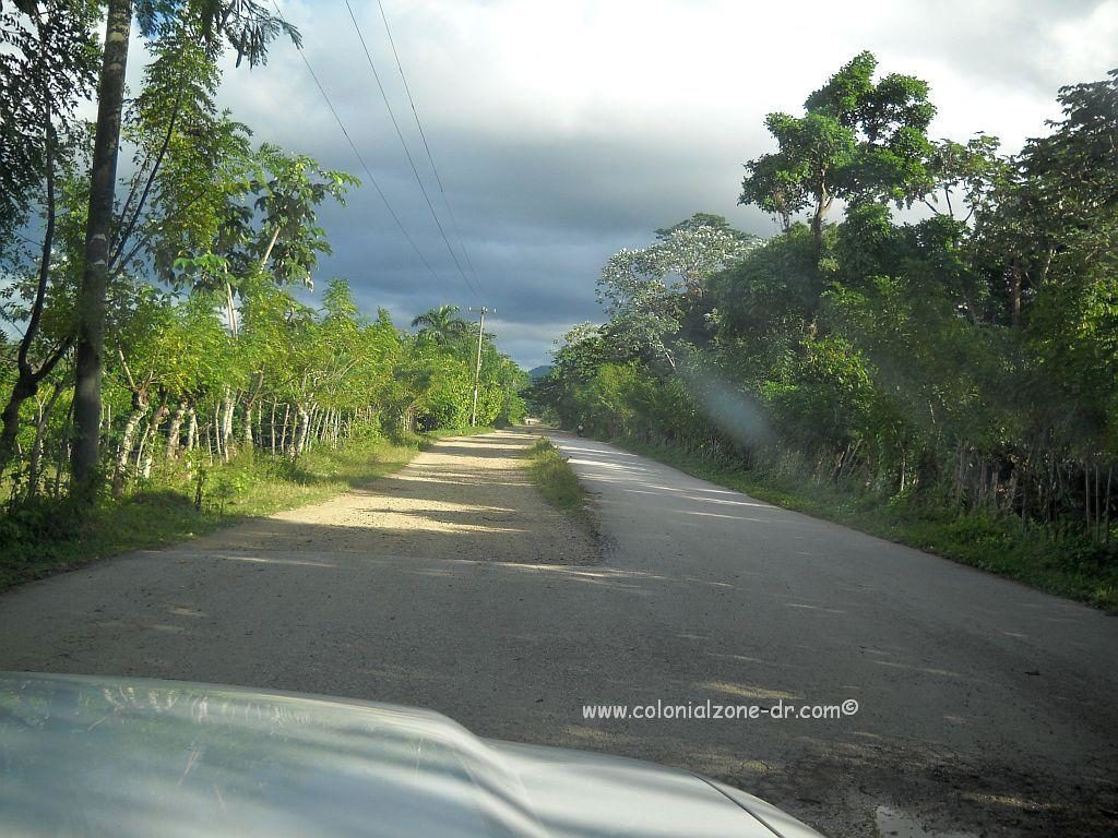 The highway to Miches. Sometimes the road just is not there any longer.