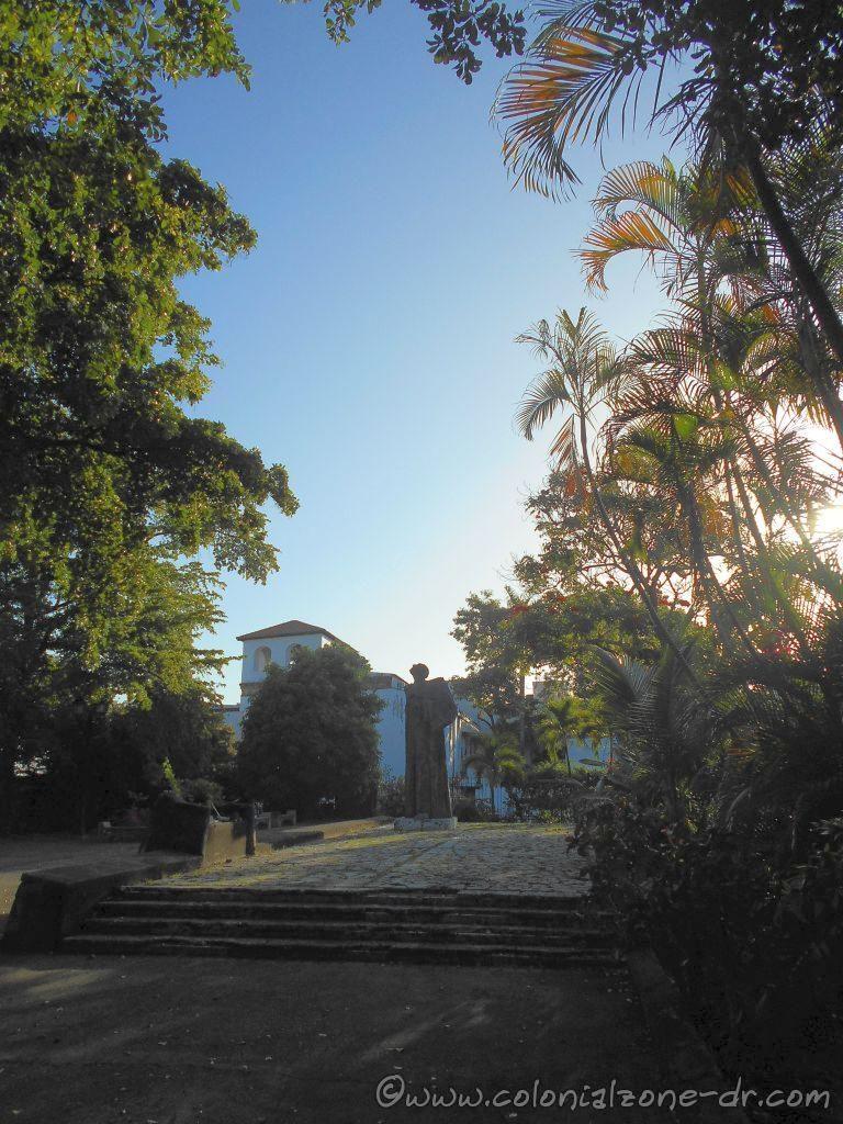 Plaza Bartolomé de las Casas, Colonial Zone, Dominican Republic.