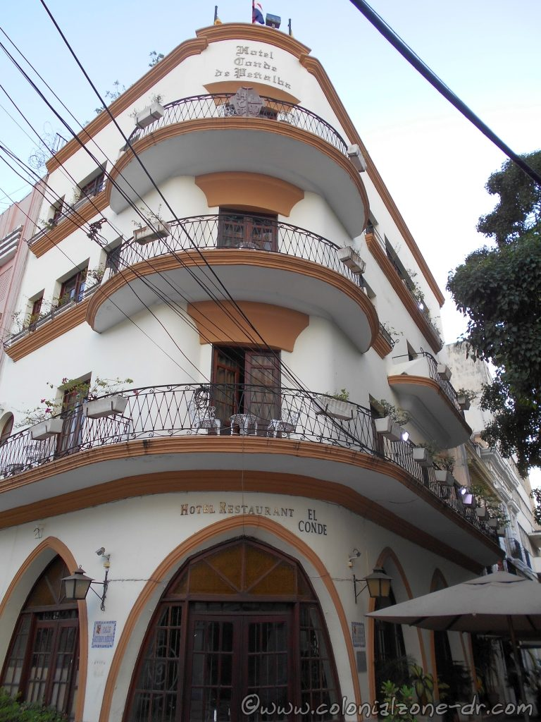 Hotel Conde de Penalba, Colonial Zone, Santo Domingo, Dominican Republic.