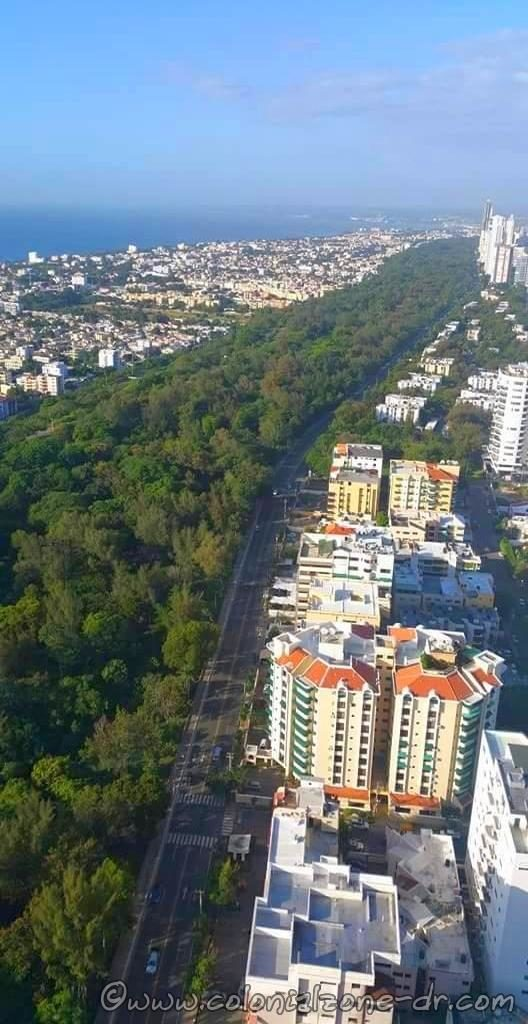 Parque Mirador del Sur is the first ecological park of Santo Domingo