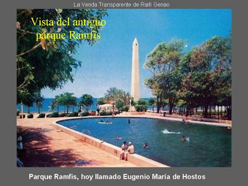 The old Parque Ramfis