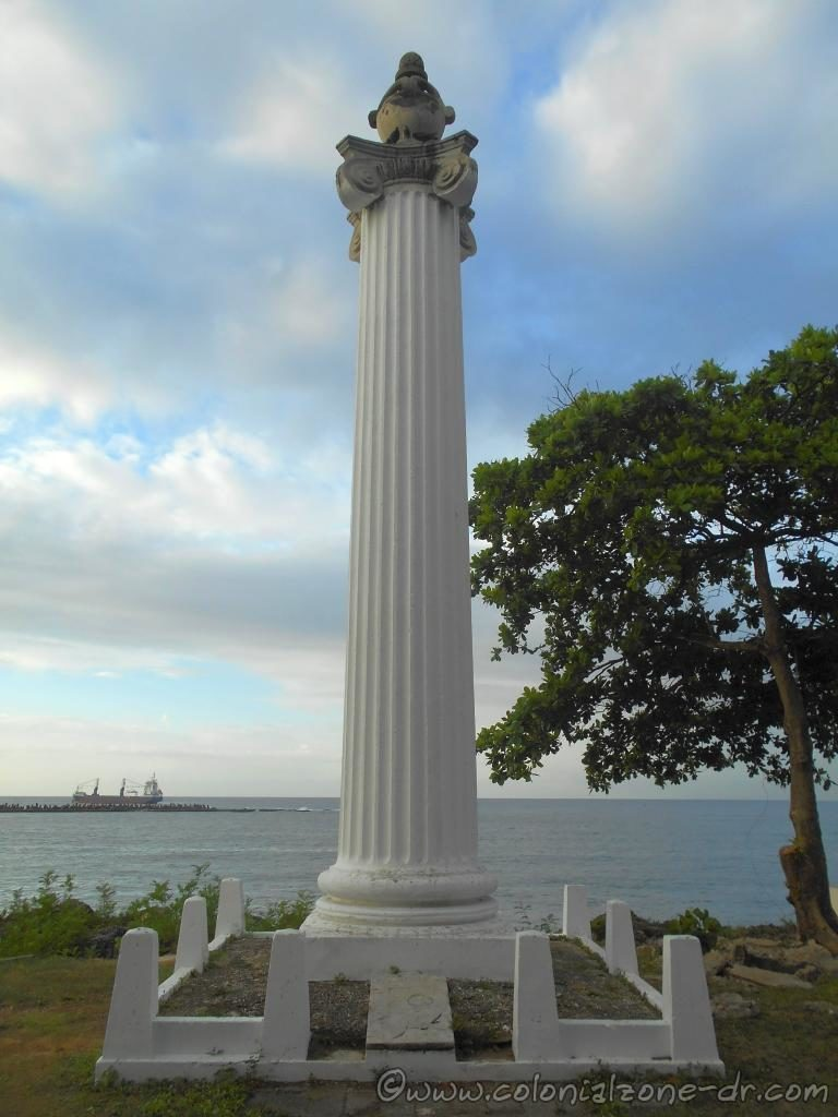 The Memorial Column to the Shipwreck of the Sloop Aurora.