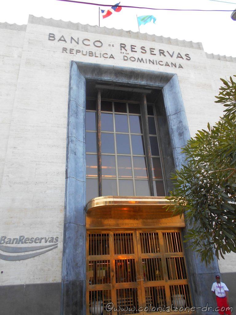Banco de Reservas is a good place to exchange monies.