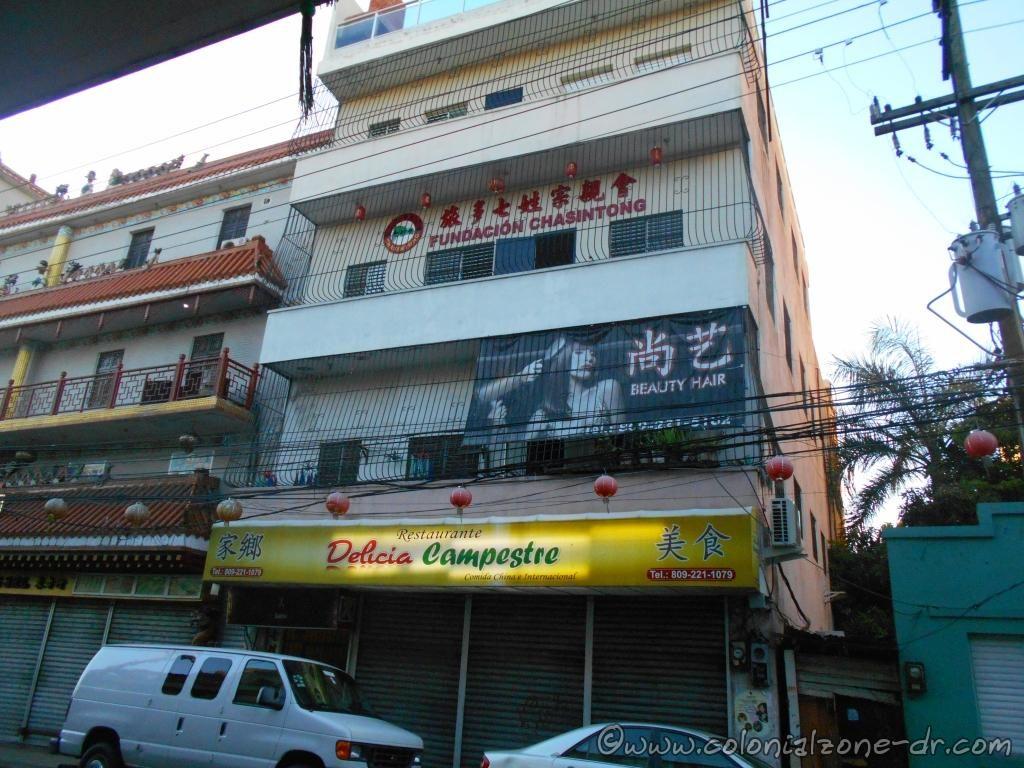 Fundación Chasintong Restaurante Delicia Calle Benito González
