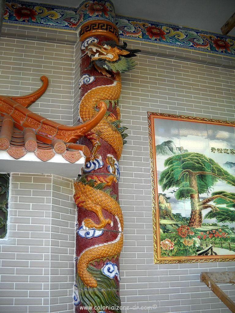Close-up of Casa Real China Dong Fong Trading located in Barrio China